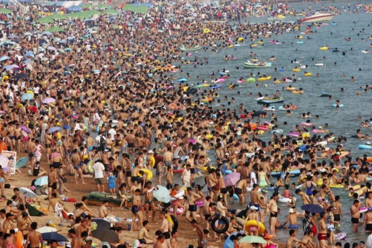 Damejša Bathing, Kitajska
