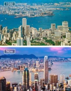 Hongkong (Kitajska) – leta 1980 in danes