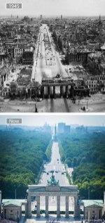 Berlin (Nemčija) – leta 1945 in danes