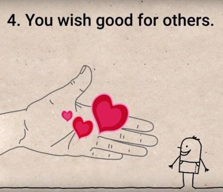 Drugim želite dobro.