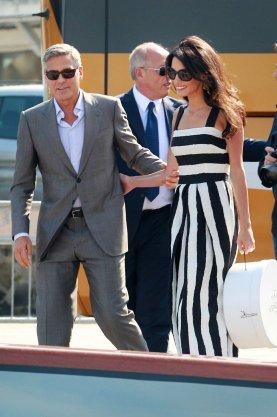 George Clooney in Amal Alamuddin na poroki leta 2014