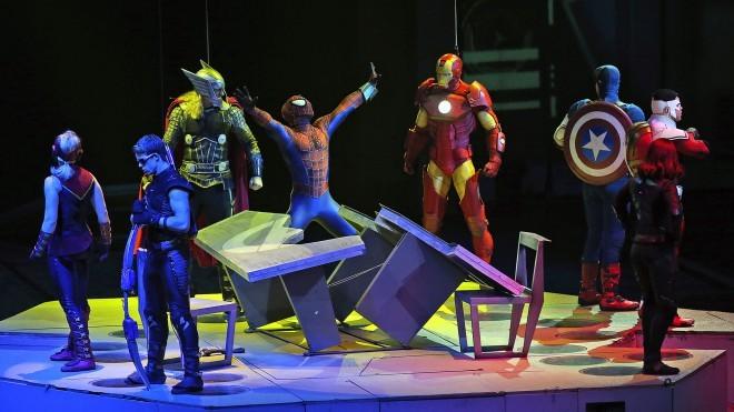 Gledališki spektakel Marvel Universe Live! novembra gostuje v Zagrebu.