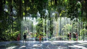 Prestižni hotel s petimi zvezdicami in lastnim deževnim gozdom