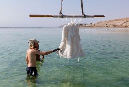 Slana obleka iz Mrtvega morja