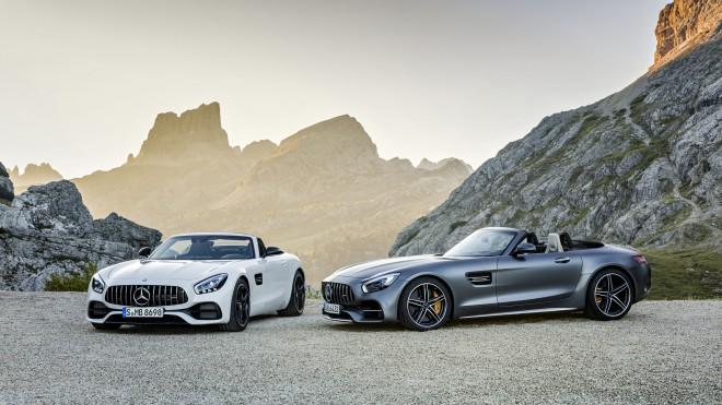 AMG GT Roadster in AMG GT C Roadster se bosta svetovni javnosti v živo prvič predstavila na pariškem avtosalonu.