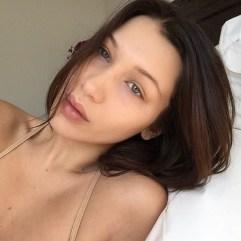 Bella Hadid brez ličil