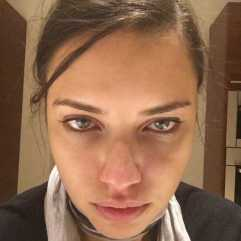 Adriana Lima brez ličil