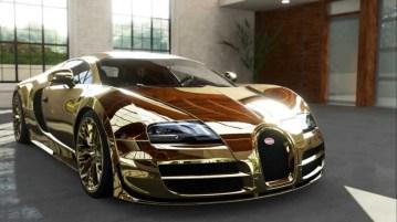 Flo Rida – zlat Bugatti Veyron (cena: 2,7 milijona ameriških dolarjev)