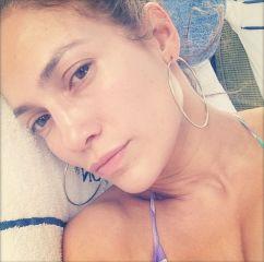 Jennifer Lopez brez ličil