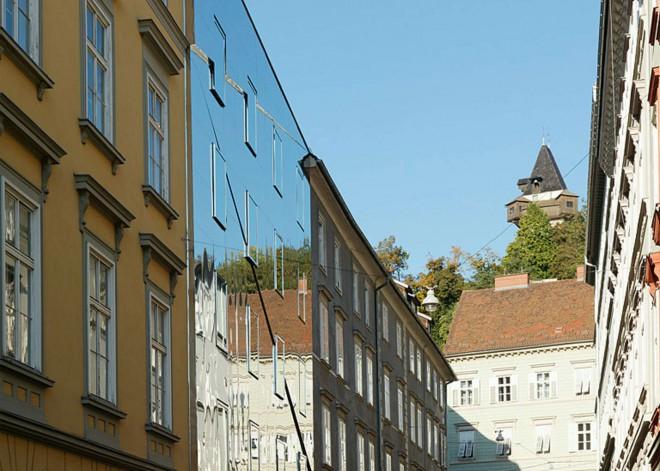 Ballhausgasse v Gradcu.