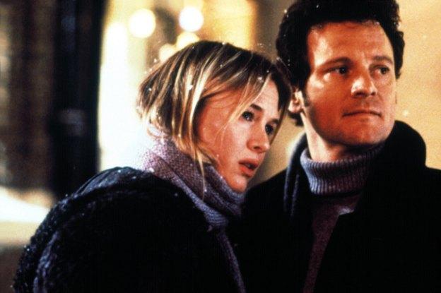 Bridget in Mark iz filma Bridget Jones's Diary (Dnevnik Bridget Jones)