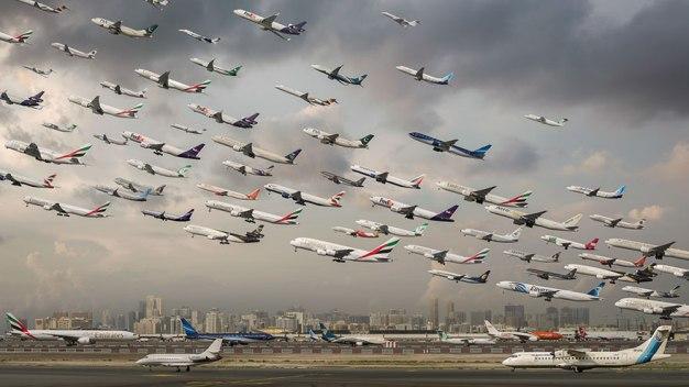 Letališče v Dubaju