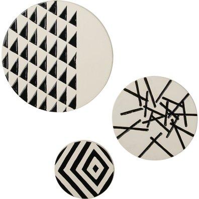 Minimalizem: keramično okrasje za steno; 68,17 €