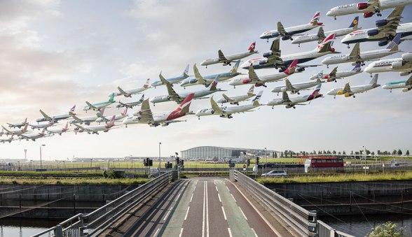 Letališče Heathrow v Londonu (Anglija)