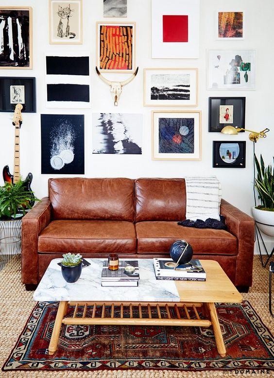 """Domača galerija – galerija na steni – """"gallery wall"""""""