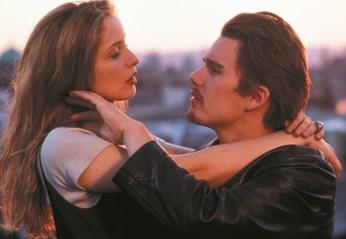 Jesse in Céline iz filma Before Sunrise (Pred zoro)