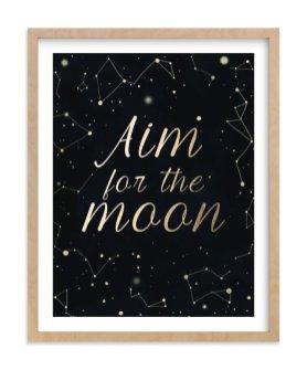 Romantično razkošje: slika Aim for the moon; 104,50 €