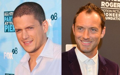 Wentworth Miller in Jude Law, 46 let
