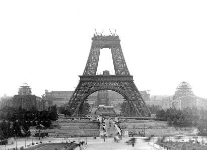 Gradnja Eifflovega stolpa