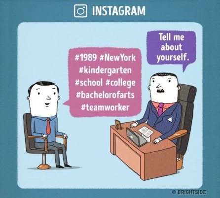 Razgovor za službo pri Instagramu