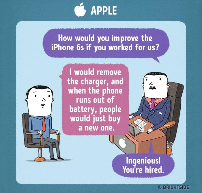 Razgovor za službo pri Applu