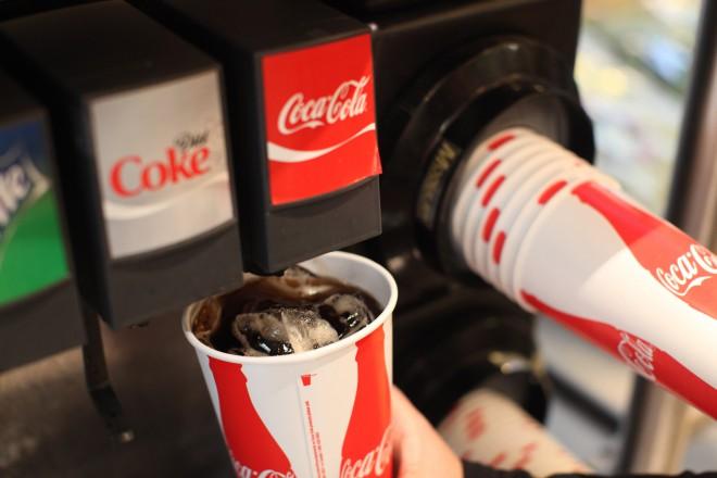 Ko gre za Coca-Colo pri McDonald'su ničesar ne prepuščajo naključju.