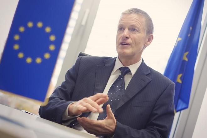 Zoran Stančič, vodja Predstavništva Evropske komisije v Sloveniji (Foto: Boštjan Tacol)