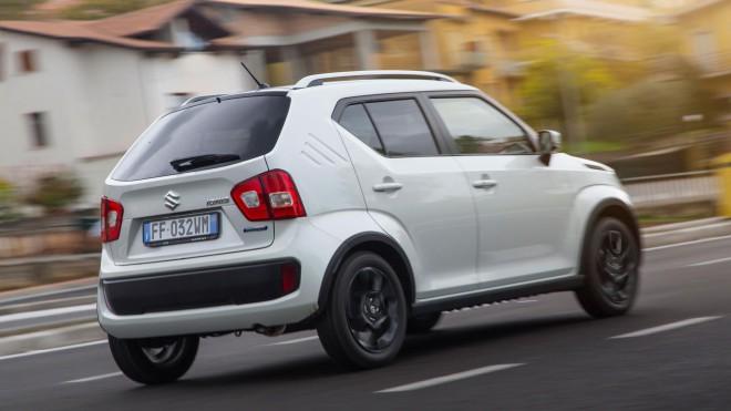 Novi Suzuki Ignis ima neobičajen zadek.