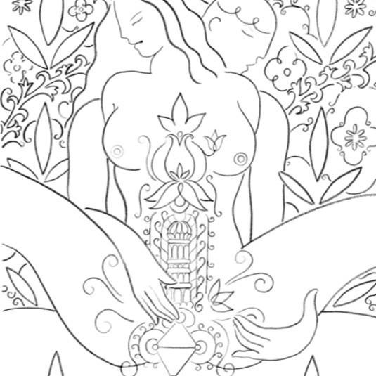 Erotične ilustracije kot oblika predigre?