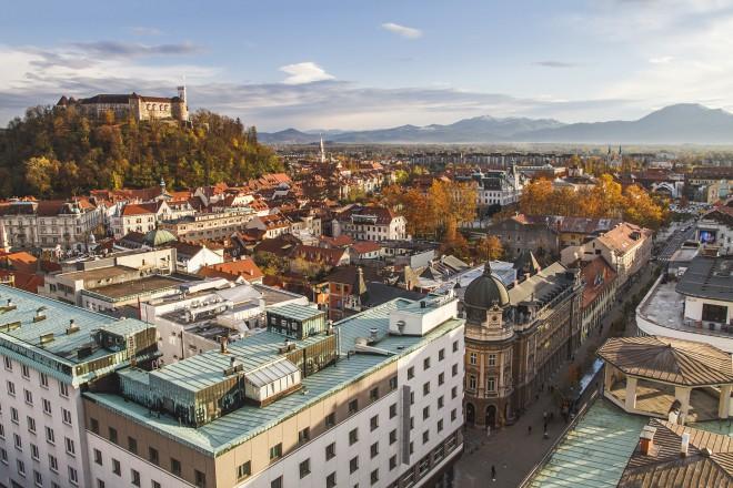 Ljubljana v primerjavi z drugimi mesti ni tako draga za življenje.