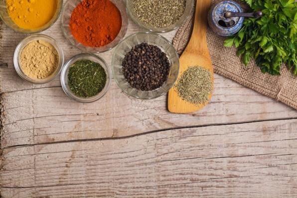 Začimbe izgubijo svojo moč , okus in tudi zdravilne lastnosti v času od 1 do 3 let.