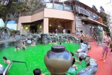 Spa center Yunesson Spa Resort – kopel v zelenem čaju