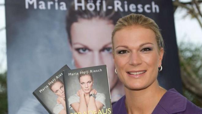 Tudi Maria Höfl-Riesch je izdala biografijo.