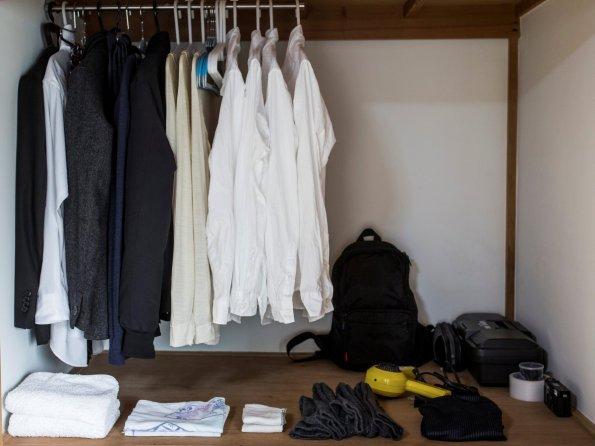 Ekstremno minimalistični domovi Japoncev: ... in svoje misli.