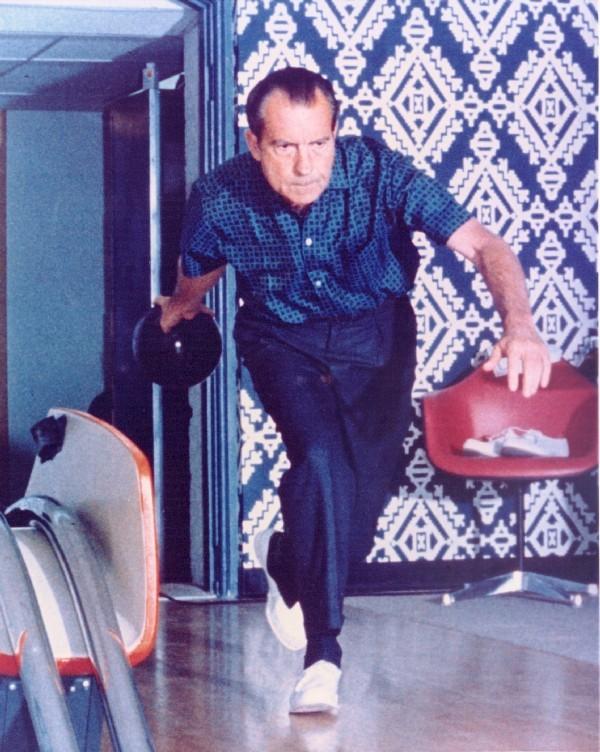 Bovling v Beli hiši – Richard Nixon