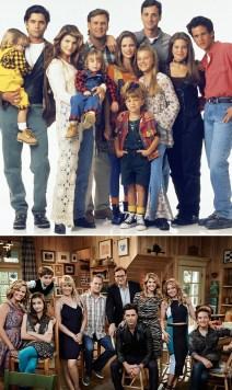 Full House (Polna hiša): 1990 vs. 2016