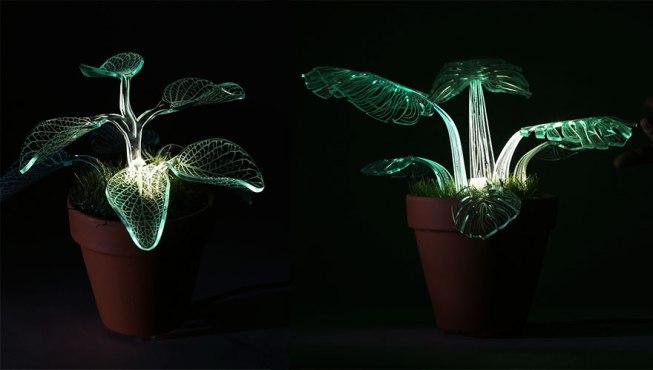 LED-rastline Lamp Plant