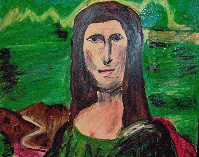 Mona Liza, si to ti?