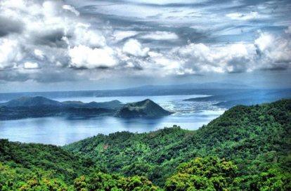 Taal – nenavadno filipinsko jezero