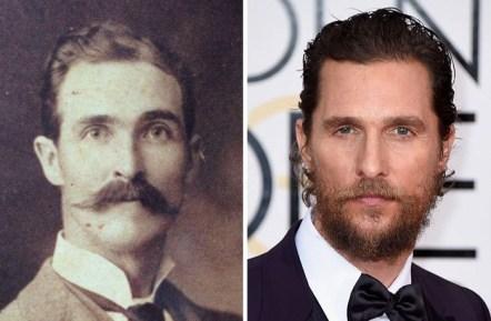 Prapradedek in Matthew McConaughey