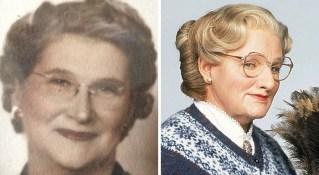 Babica, ki je videti kot gospa Doubtfire