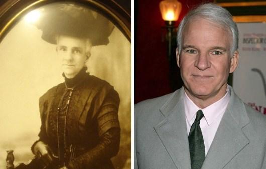 Tale babica iz viktorijanske dobe je videti kot Steve Martin.