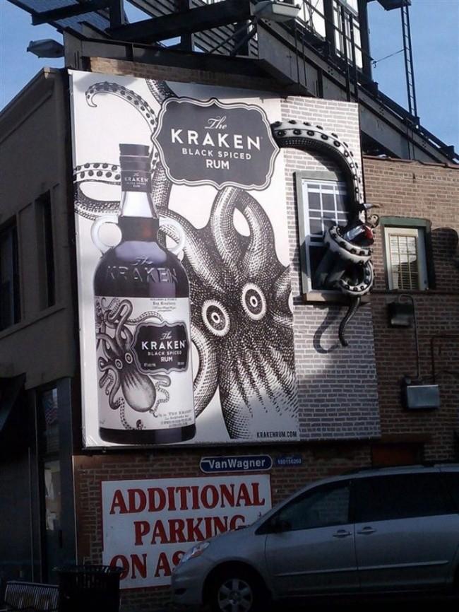 Črni rum Kraken