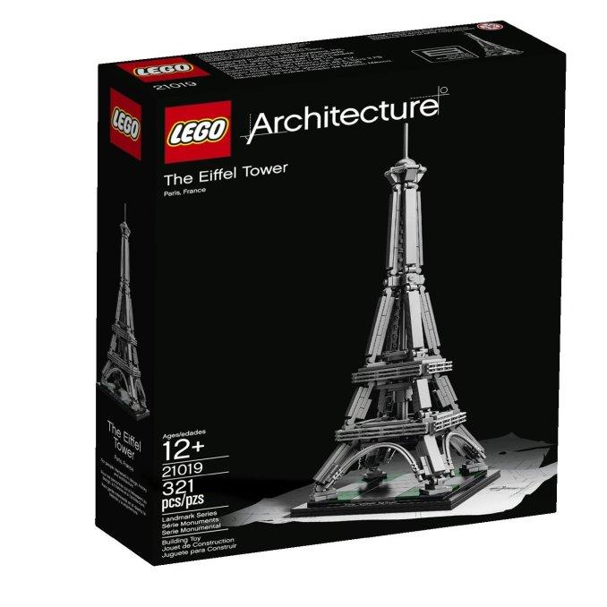 Eifflov stolp stane približno 1.600 evrov ter je najvišji model Lego na svetu.