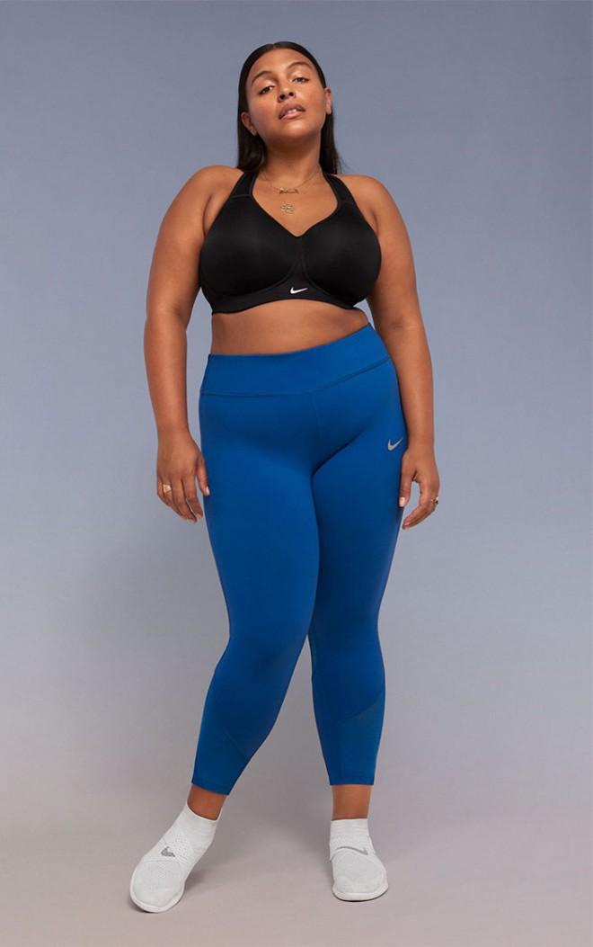 Nike želi spremeniti odnos družbe do žensk, ki imajo močnejšo postavo.