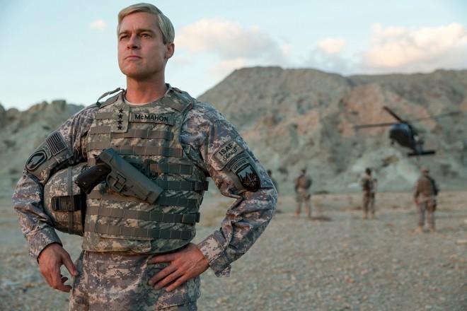 Brad Pitt je v filmu War Machine ameriški general, ki v Afganistan med NATO sile pride kot rock zvezdnik.