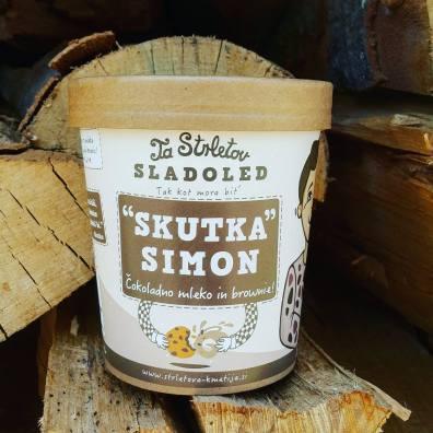 TaStrletov domači sladoled: Skutka Simona