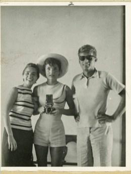 John F. Kennedy in Jacqueline Kennedy, 1954