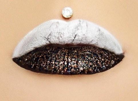 Lepotni trendi 2017: marmorne ustnice, ustnice kot iz marmorja