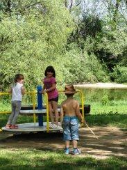 Naravno kopališče v kampu Podzemelj (Kolpa)